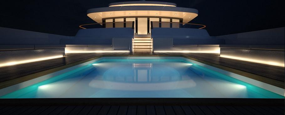 Arapeva for Led para piscinas